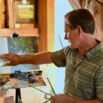 """Exploring """"points of view"""" with artist Brad Betts at the Down East Gallery"""